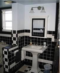 bungalow bathroom going for a 1930s art deco look bathrooms