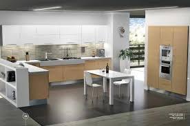 cuisine grange chaise à manger en bois la mode comptoir de cuisine blanc élégant