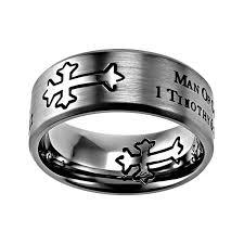 cross rings men images Man of god neo cross ring d st neo mog sil men 39 s rings on jpg