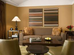 modern living room design with extraordinary interior painting