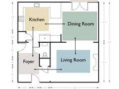 paint schemes for open floor plans google search paint ideas