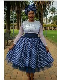 Tswana Traditional Wedding Dress Jeremane Or Leteisi Shweshwe