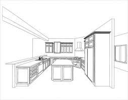 Kitchen Cabinet Drawing Extraordinary Kitchen Cabinet Layout Ideas Fantastic Kitchen