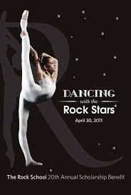 lexus johnson dance the rock u0027s 2011 benefit gala program book by the rock