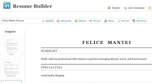 resume linkedin chic create resume from linkedin 13 resume builder create a from