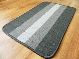 new modern non slip heavy duty kitchen mats utility grey washable
