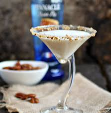 a cocktail life pecan pie martini and easy maple roasted pecans