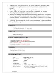 purchase resume sachin resume procurement engineer 1