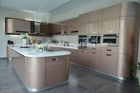 2017 hangzhou new model modular kitchen designs with price