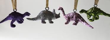 tutorial make glittered dinosaur ornaments dollar store crafts