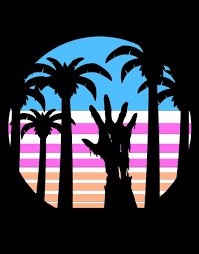 palm trees t shirt designs by artists worldwide