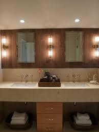 photos hgtv modern double vanity bathroom with wood tile