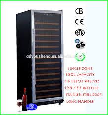 refrigerator wine bottle holder hotel kitchen cabinets usf 128s