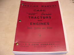 case 400 tractor dealers service manual gas u0026 diesel saeli