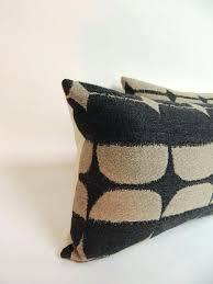 Amazing Lumbar Throw Pillows And Pair Mid Century Modern
