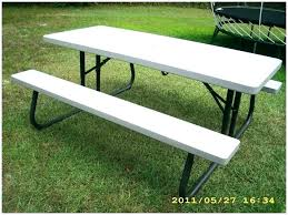 picnic table plans detached benches picnic table size dimensions picnic table bench height seata2017 com