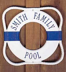 personalized preserver personalized ring pool sign we re all familiar with the