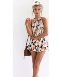 jumpsuit shorts savings on senfloco s casual flared dress style