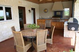 Kitchen With Dining Table Houston Outdoor Kitchen Gallery Richard U0027s Total Backyard Solutions