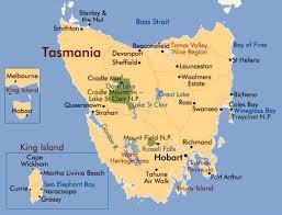 map of tasmania australia tasmania beaches among the best in australia