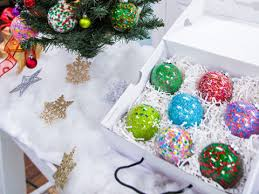 What Does Ornaments Memme S Diy Sprinkle Ornaments Hallmark Channel Floral