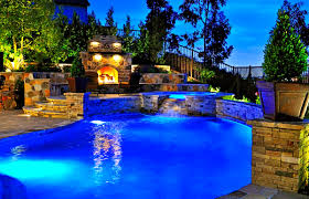 decoration charming backyard landscaping ideas swimming pool