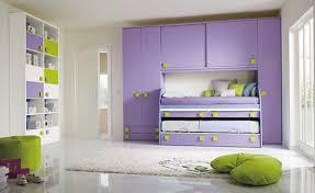 chambre bleu et mauve chambre fille mauve