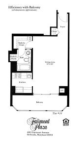 fairmont plaza floorplans