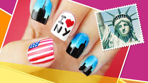 new york inspired nail art the world at your fingertips w
