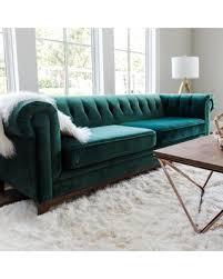 Chesterfield Velvet Sofa Amazing Deal On Green Velvet Sofa Nottingham Mid Century Modern