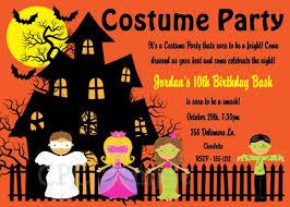 free printable halloween birthday party invitations cimvitation