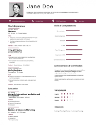 right resume format 50 most professional editable resume templates for jobseekers