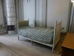 chambre style gustavien cette chambre suédoise du château de gripsholm en suède fait la
