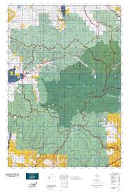 Colorado Elevation Map by Colorado Gmu 24 Map Mytopo