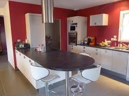 cuisine ilot central cuisson cuisine avec ilot central plaque de cuisson hygena ilot avec