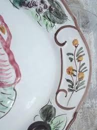 ceramic turkey platter vintage thanksgiving turkey platter painted ceramic made in
