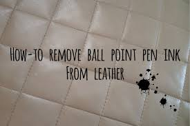 How To Get Ink Out Of Leather Sofa by How To Remove Pen Ink From Leather Sofa Sofa Ideas