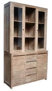 teck grade a bibliotheque u0026 vitrine vitrines en teck