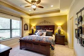 Lighting For Master Bedroom The Master Bedroom Features A Tray Ceiling With Crown Molding