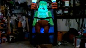 Gemmy Halloween Inflatable by Gemmy Halloween Inflatable 6ft Shaking Monster Youtube