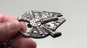 millennium star diamond star wars millenium falcon metal bottle opener key holder in 4k