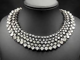 beautiful necklace photos images Silver choker necklace the beautiful choker necklace jewelry jpg