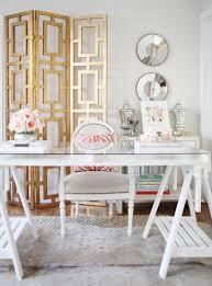 Diy Glass Desk Small Home Office Design Ideas Glass Desk Hello Lovely Living