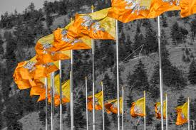 Flags In Flag Of Bhutan Wikiwand