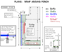 wrap around porch plans wrap around porch on a budget house web