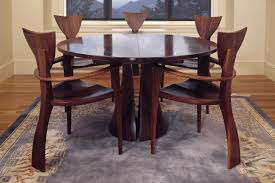 Expanding Table by Tinsman Dining Table Round Dining Table Seth Rolland