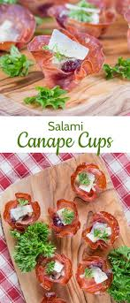 canape cups recipes salami canapé cases with parmigiano reggiano fuss free flavours