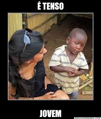 Tenso Meme - 繪 tenso jovem crian罘a africana gerador memes