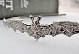 bat headband bat headband silver bat hair accessories bat hair bow