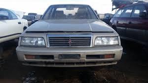 mitsubishi wagon 1990 junkyard find 1990 mitsubishi sigma